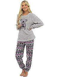 Ladies Pyjamas Set Womens Loungewear Pyjamas for Women Comfy Warm Soft Womans Lounge Wear Pjs Sets