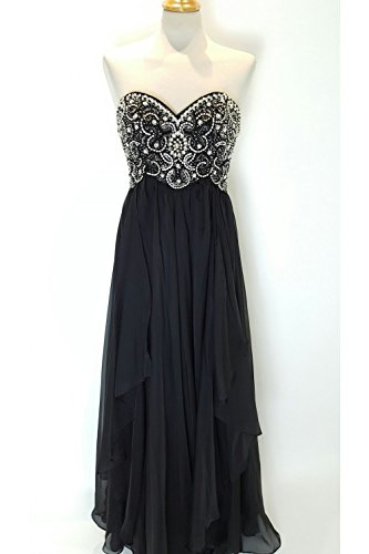 sherri-hill-3802-black-strapless-beaded-bodice-dress-uk-12-us-8