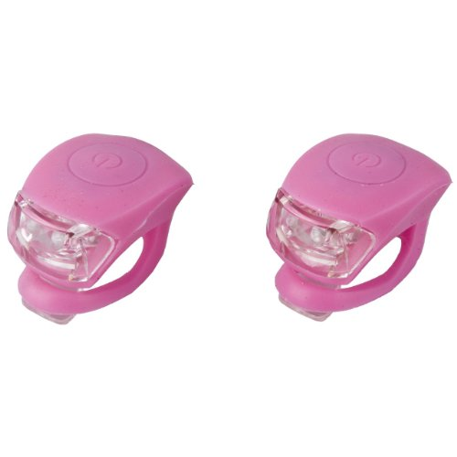Preisvergleich Produktbild LED Mini Silikonlicht Lampe Silikonleuchte 2er Set, 2 Funktionen rosa