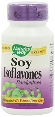 Natures Way Soy Isoflavone, 40% Standardized, 60 Cap from Nature's Way