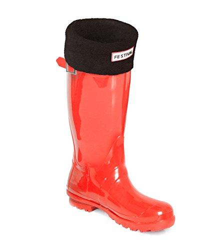 Festival Ladies Original Tall Warm Winter Rain Wellies Wellington Boots Sizes 3-9 UK