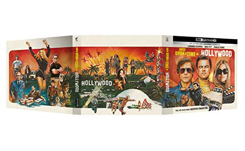 C'Era Una Volta... A Hollywood - Vinyl Edition 4K Ultra Hd + Book Fotografico + Poster (Collectors Edition) (2 Blu Ray)