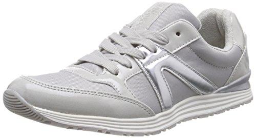 s.Oliver 23607 Damen Sneakers Grau (LT GREY 204)
