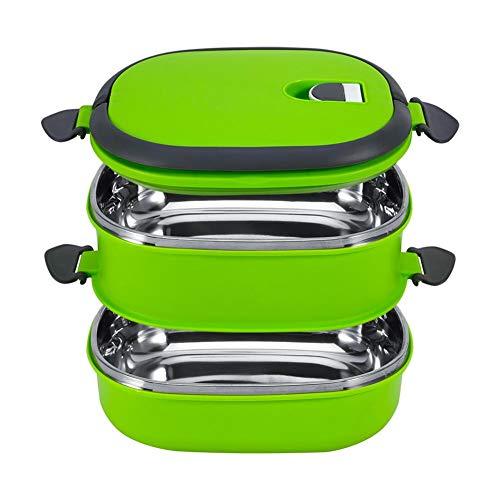 Lunchbox, Yosoo Tragbare Frischhaltebox Lebensmittelbehälter aus Edelstahl