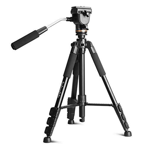 Nvsblt Soporte del trípode y trípode de cámara Digital Panasonic for Q111s Profesional de la cámara Nikon Fuji Pentax Ricoh Sony Panasonic con el Soporte