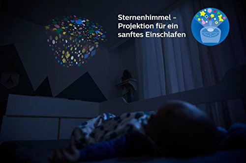 Philips Avent Audio-Babyphone SCD733/26, DECT-Technologie, Eco-Mode, Sternenhimmel, 18 Std. Laufzeit
