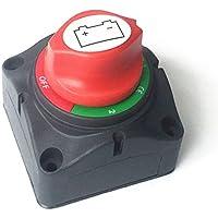 KFZ Auto Boot SUV Batterie Trennschalter Hauptschalter Ausschalter 24V 400A