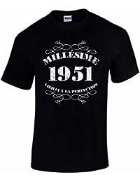 T-Shirt Anniversaire Homme 65 Ans Millésime 1951