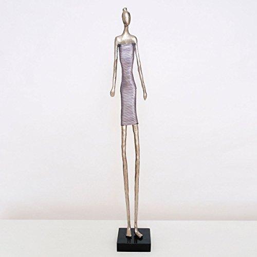 hollander-figur-bella-donna-aluminium-silber-violett