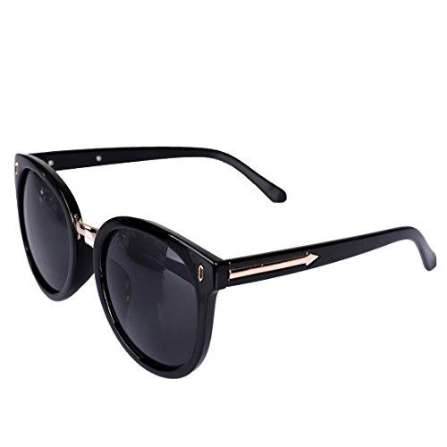 Gafas de sol,Lentes polarizados unisex Estilo retro Cómodo montaje envolvente con protección UV Ideal para conducir, pescar, andar en bicicleta