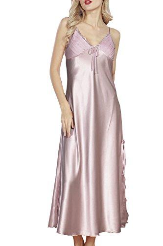 Nachdenklich Frauen Sexy Dessous Seide Spitze Robe Babydoll Nachthemd Nachthemd Nachtwäsche Kleid Und Ein Langes Leben Haben. Unterwäsche & Schlafanzug