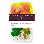 The Grocer on Elgin King Prawn Curry and Coconut Rice, 380 g