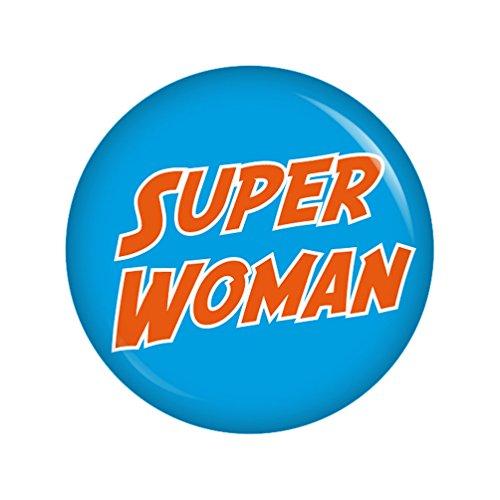 perwoman 37mm Button Ansteckbutton Junggesellenabschied und Hochzeit (Superwoman-party Dekorationen)