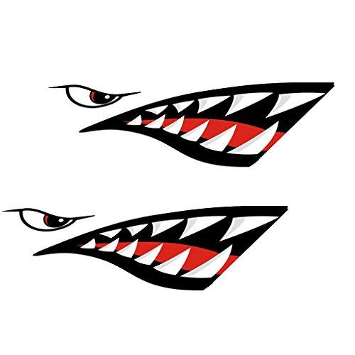 Descripción:      diseño nuevo y fresco de la marca  Esta calcomanía tiburón es gráficos gruesas hechas con el vinilo de alta calidad  Es fácil de aplicar y elimina sin residuo o daño a la superficie  Resistente al agua, muy fuerte y durable ...