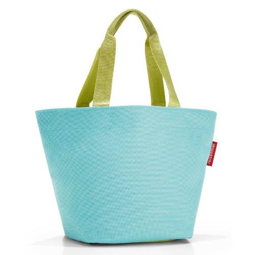 reisenthel Shopper XS, Borsa per la Spesa, per lo Shopping, turquoise / turchese, ZR4017