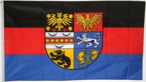 Qualitäts Fahne Flagge Ostfriesland 90 x 150 cm mit verstärktem Hissband