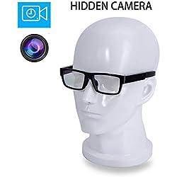 ViView g20h.2018 caméra complètement cachés Lunettes vidéo HD 1920x1080p Moyen Noir