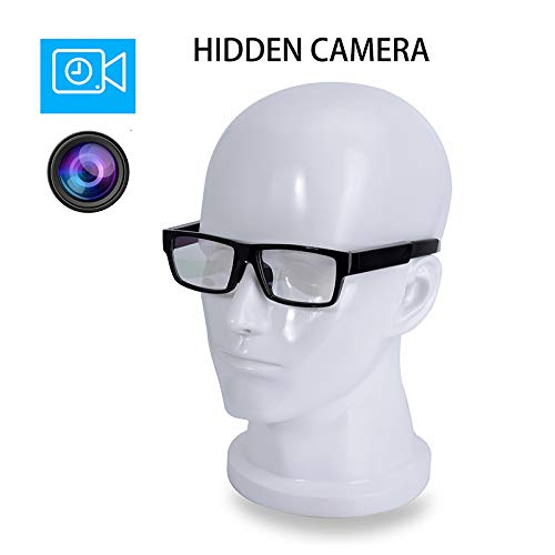 ViView G20H Vollständig versteckte Kamera - Videogläser HD 1080P Touch Control - Geben Sie Ihre Hände frei - Outdoor/Training/Unterricht/Kinder/Haustiere (16 GB SD-Karte enthalten)
