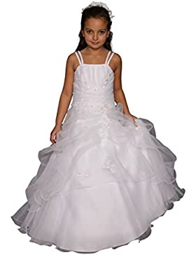 Kinderkleid Kommunion - Blumenkinder Kleid - Modell K4100