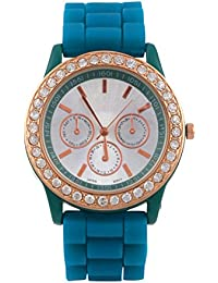 KMS Peacock Round Dial Stylish Women Analog Watch