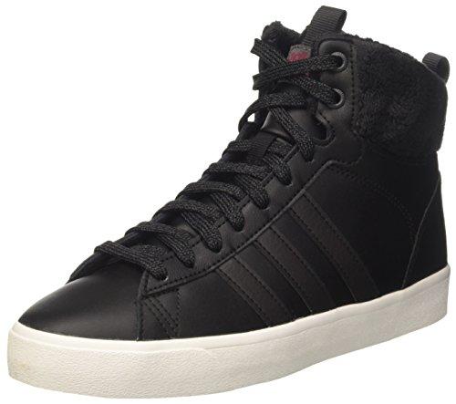 adidas Damen Cf Daily Qt WTR W Hohe Sneaker Schwarz (Core Utility Black/Mystery Ruby), 38 2/3 EU
