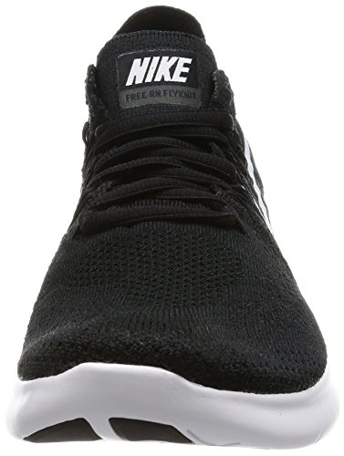 Running Nike Femme White RN 001 Noir de Flyknit 2017 Black Black Chaussures Free YYqr0O
