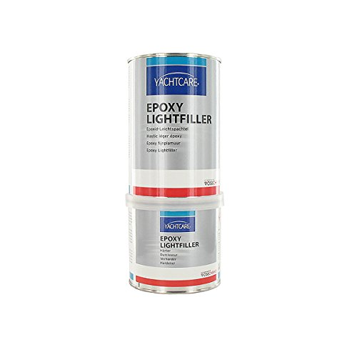 1,2l Epoxy Lightfiller 2-K Epoxidspachtel wasserdicht Spachtel (Boot Spachtel)