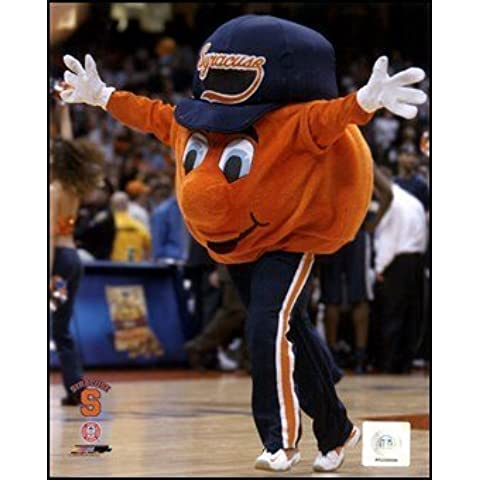 Otto the Syracuse Orangemen Mascot 2004 Art Poster PRINT Unknown 8x10 by Library Images