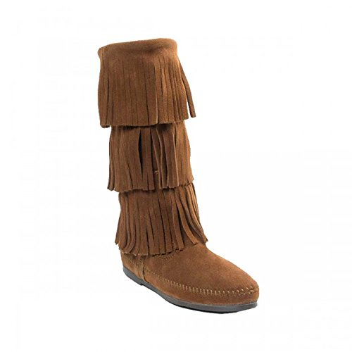 Minnetonka , Mocassins pour femme Dusty Brown