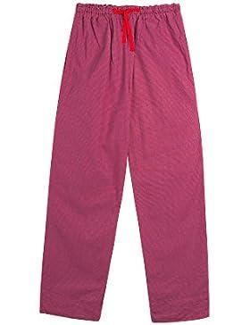 Vivente Vivo - Pantaloni per pigiama da donna, motivo a quadretti