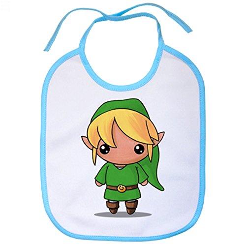 Babero Chibi Kawaii Link parodia Legend of Zelda -