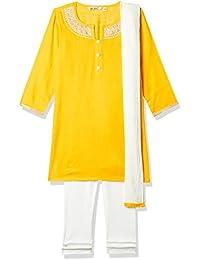 Karigari by Unlimited Girls' Regular Fit Dress Suit