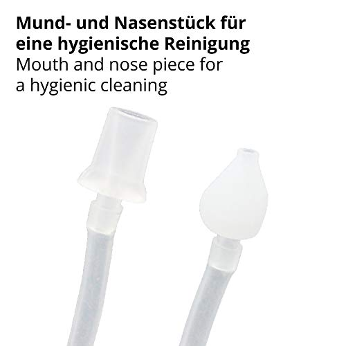 TALINU Nasensekret-Sauger für Babys und Kleinkinder/Nasen-Sauger/Baby-Nasensauger/Nasenschleim-Entferner - 3