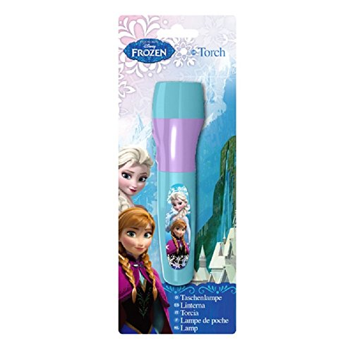 königin Frozen Disney 13cm türkis–Taschenlampe–Sambro (Frozen Ideen)