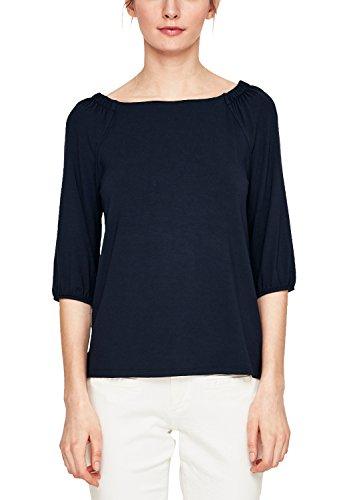 s.Oliver Damen T-Shirt Blau (Navy 5959)