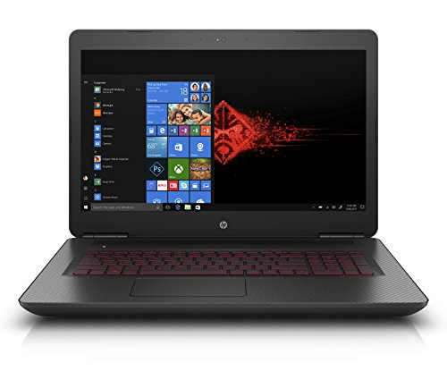 HP OMEN 17-w214nf PC Portable Gaming 17' Full HD Noir (Intel Core i5, 8 Go de RAM, 1 To + SSD 128 Go, Nvidia GeForce GTX 1050, Windows 10)