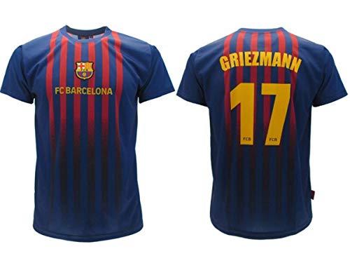 Camiseta Fútbol Antoine Griezmann 17 Barcellona Blau