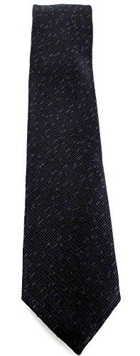 Calvin Klein Seidenkrawatte Elegance Aufdruck tonale schwarz