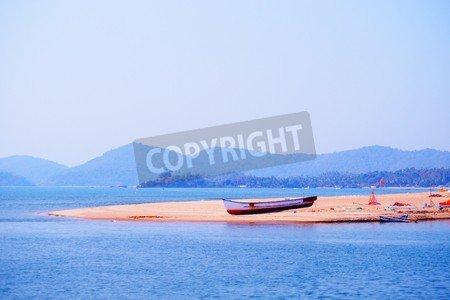 Leinwandbild Lonely Boat