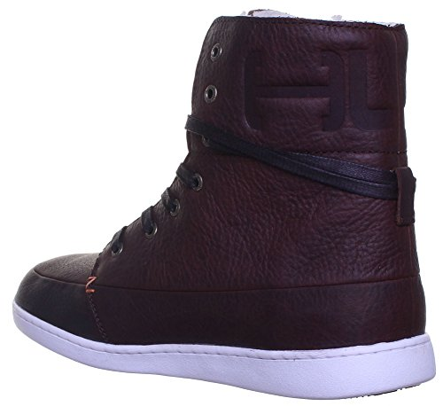 Hub , Baskets mode pour homme Dark Brown KP