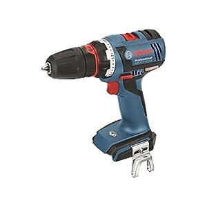 Bosch Professional PL Batería para Bosch y taladro atornillador, GSR + 18-2-LI Plus AkkuBohrsch. soloK / 06019E6102, 18 W, 18 V, Negro, Azul, Rojo