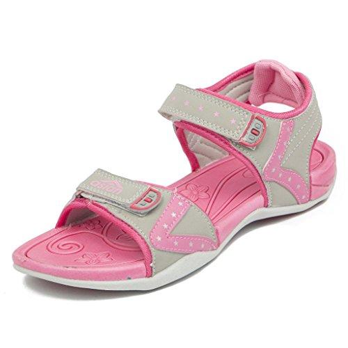 Asian Shoes Ladies AFFAIR 01 Light Grey Pink Sandal