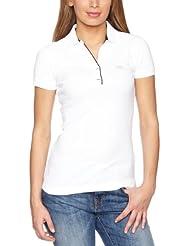 Helly Hansen W Breeze Polo - Camiseta para mujer, color blanco, talla L