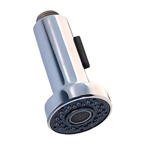 INCHANT remplacement multi fonction RETIREz tête 2 Spout Réglages Spray Pomme de douche de haute qualité finition chrome pour la cuisine bain évier bassin robinet mitigeur