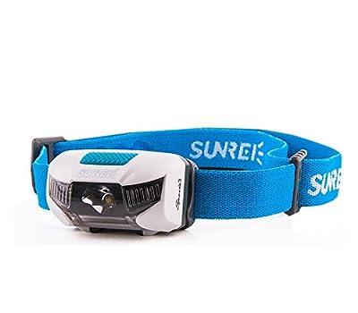SUNREE IPX6 Wasserdichte Stirnlampe LED Headlamp Laufen Kopf-Lampe von SUNREE - Outdoor Shop