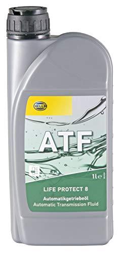 Hella 9CO 358 097-641 - Olio Motore ATF Life Protect 8, 1.000 ml, Colore: Rosso