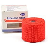 Hartmann Idealast color cohesive Idealbinde 6 cm x 4 m in Rot 1 Binde preisvergleich bei billige-tabletten.eu