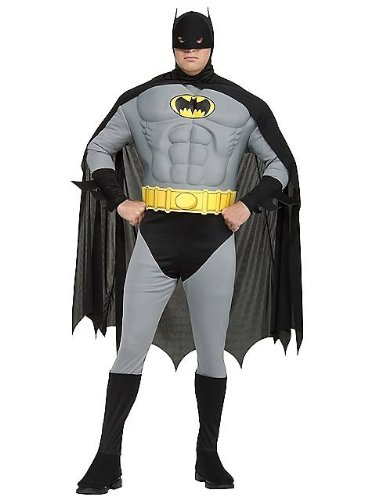 Rubie's Batman Kostüm Plus Size für Herren XXL (Size Plus Superhelden-kostüme)