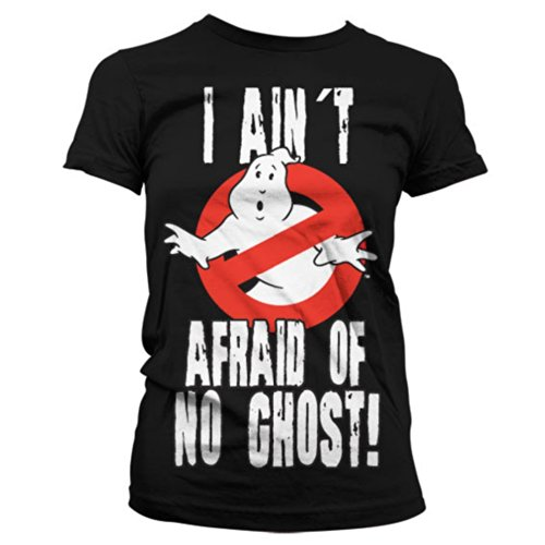 Official Ladies Ghostbusters 'I Ain't Afraid of No Ghost' Tee