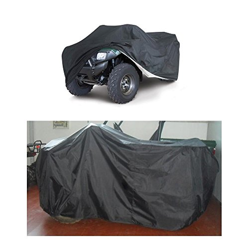 KKmoon Quad-Bike ATV Cover Wasserdicht Staubdicht Anti-UV-Gr??e L 78 Zoll* 37 Zoll * 41 Zoll